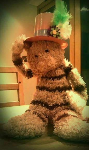 Someone's Ready for the Mad Hatter Ball..