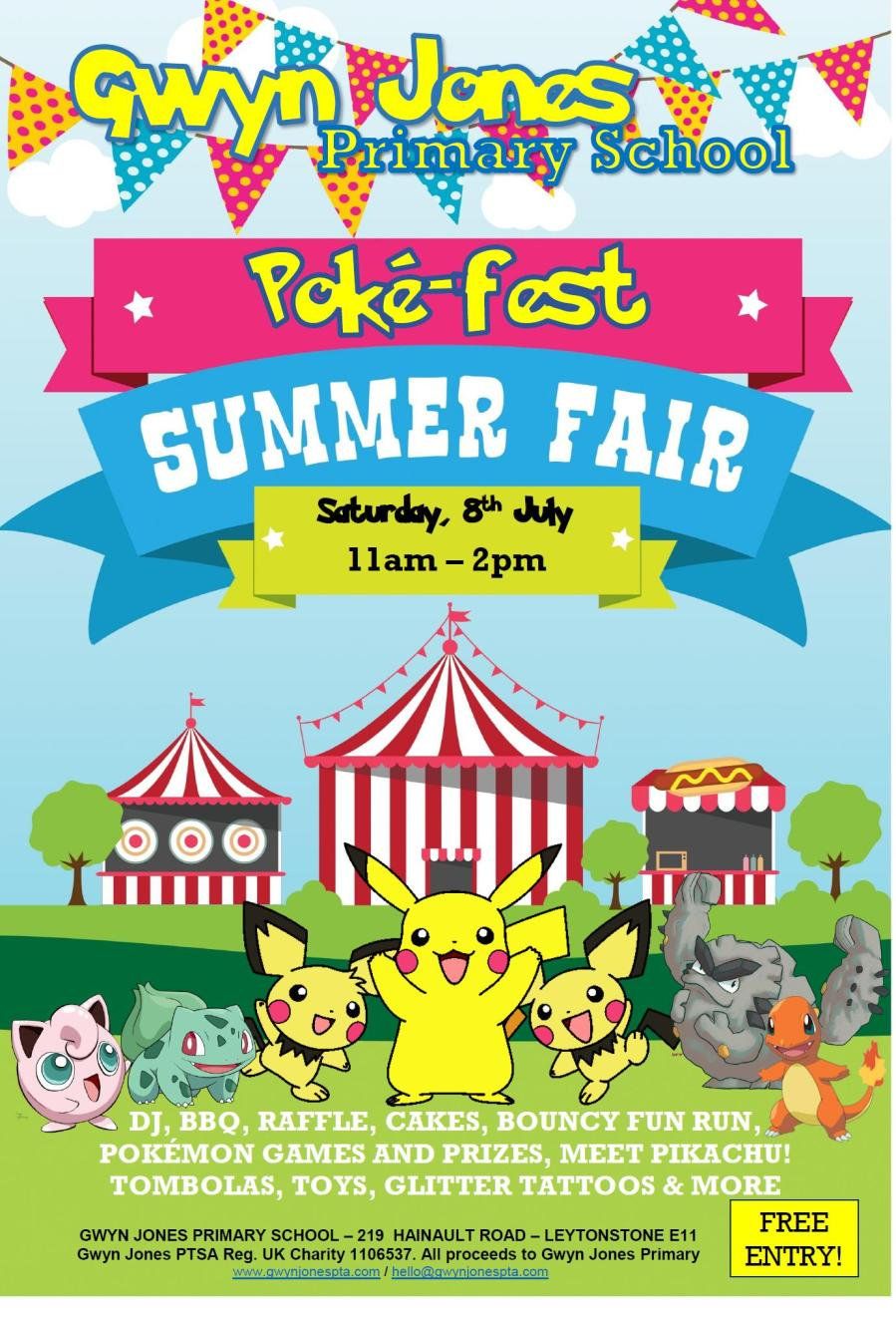 pokemon fair poster